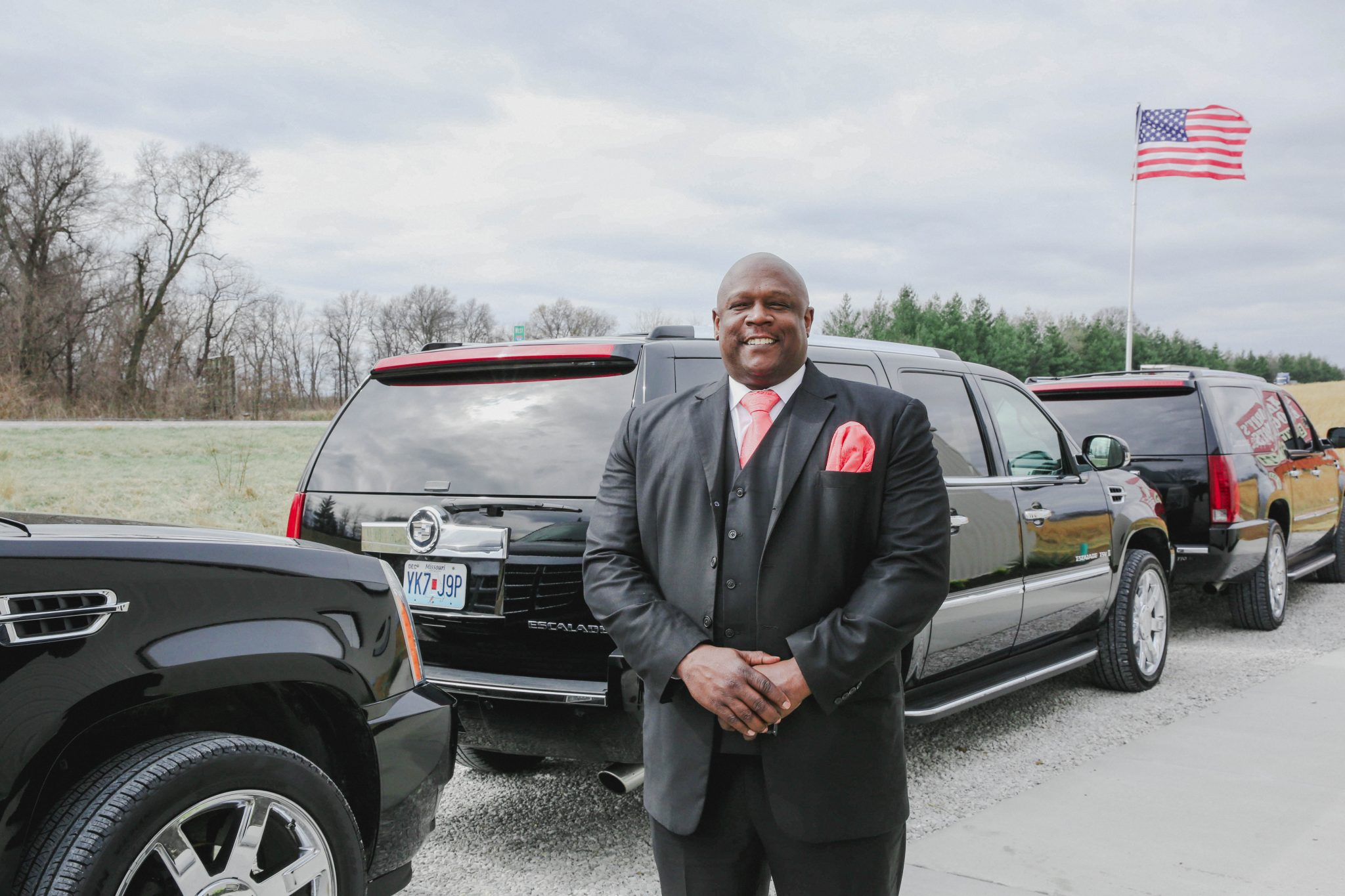 Providing Executive-style transportation in luxury SUVs and limo buses.